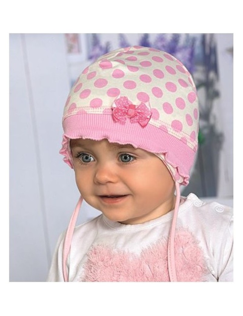 2210733f0eb64 Baby girl hat for spring autumn or cooler summer days