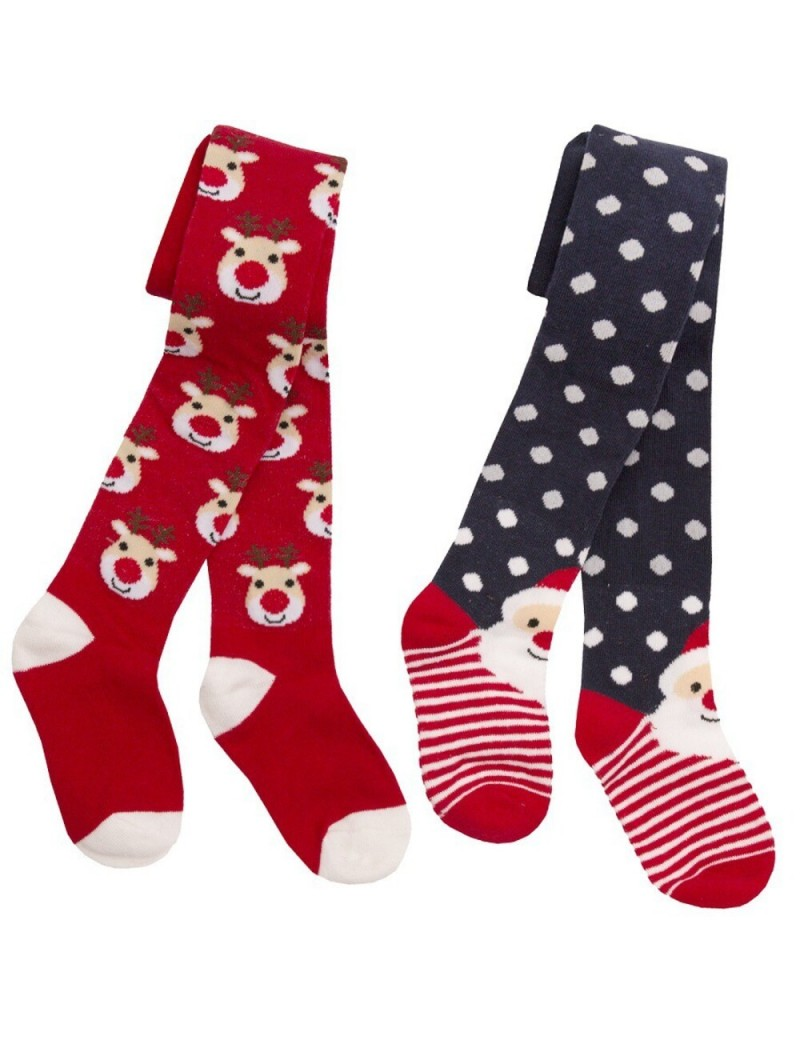 rich cotton xmas tighs for boys and girls