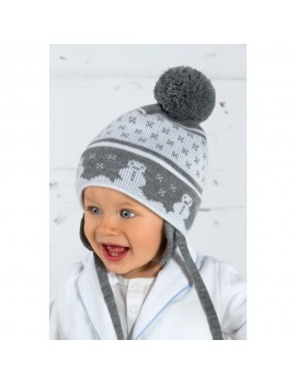 BABY WINTER HAT SNOW FLAKE