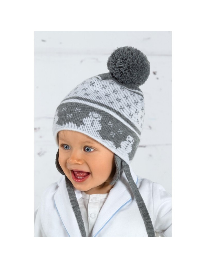 Baby winter hat for 4-12 months old girl or boy 4201a013055