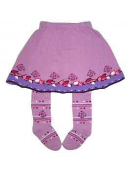 Tights with skirt  butterfly