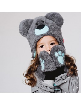BLUE BEAR  WINTER SET