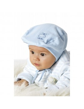 BOY CAP HELICOPTER WHITE