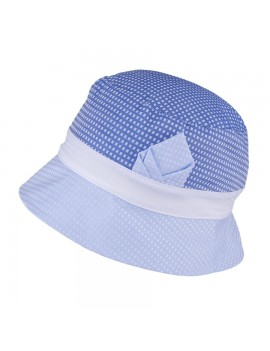 UV +30 Summer hat BLUE-WHITE