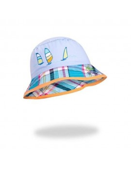 SUMMER HAT WIND light blue