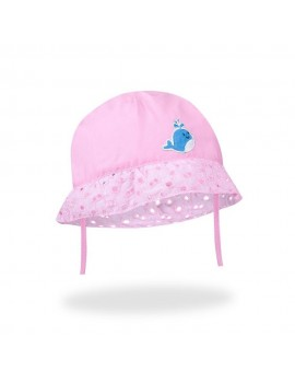 SUMMER HAT LACE PINK