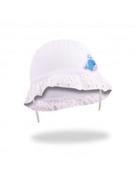 SUMMER HAT LACE WHITE