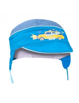 BABY BOY SUMMER CAP BLUE