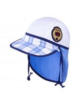 UV +30 Summer Sailor Hat blue