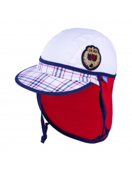 UV +30 Summer Sailor Hat Red