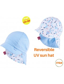 UV +50 reversible sun hat...