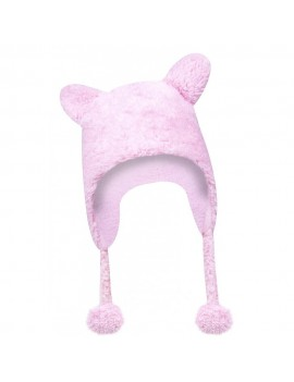 BABY HAT PINK OR WHITE