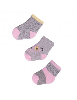 BABY SOCKS 3 PACK 5-9 MONTHS