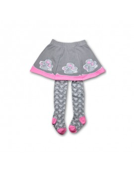 Tights with skirt mouse