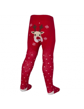 XMAS REINDEER TIGHTS WITH ABS
