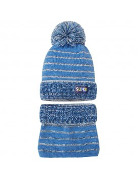 HAT AND SNOOD SUPER KID 2