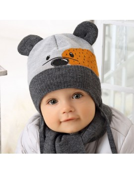WINTER SET HAT AND...